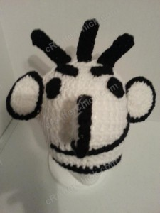 Diary of a Wimpy Kid Roderick Character Hat Crochet Pattern