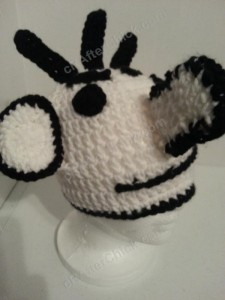 Diary of a Wimpy Kid Roderick Character Hat Crochet Pattern (9)