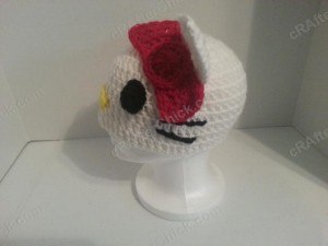 Hello Kitty Character Beanie Hat Crochet Pattern (6)