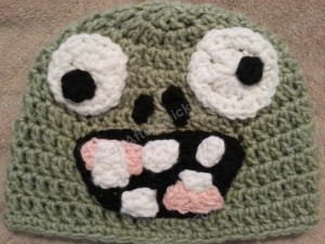 Plants vs. Zombies Zombie Character Beanie Hat Crochet Pattern (10)