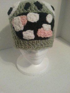 Plants vs. Zombies Zombie Character Beanie Hat Crochet Pattern (3)