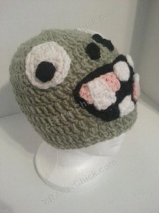 Plants vs. Zombies Zombie Character Beanie Hat Crochet Pattern (4)