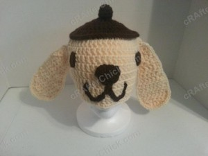 Pompompurin Purin the Sanrio Dog Character Hat Crochet (2)