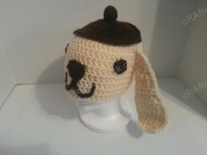 Pompompurin Purin the Sanrio Dog Character Hat Crochet (3)