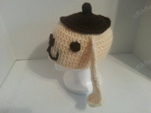 Pompompurin Purin the Sanrio Dog Character Hat Crochet (4)