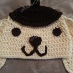 "Pompompurin ""Purin"" the Sanrio Dog Character Hat Crochet Pattern"