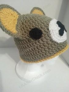 Rilakkuma and Korilakkuma Character Beanie Hats Crochet Pattern (10)