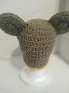 Rilakkuma and Korilakkuma Character Beanie Hats Crochet Pattern (13)