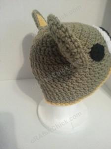 Rilakkuma and Korilakkuma Character Beanie Hats Crochet Pattern (15)