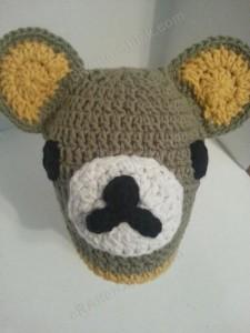 Rilakkuma and Korilakkuma Character Beanie Hats Crochet Pattern (18)