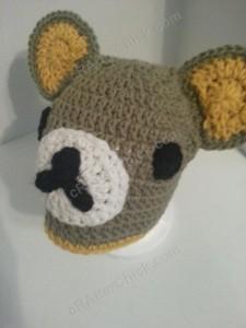 Rilakkuma and Korilakkuma Character Beanie Hats Crochet Pattern (19)