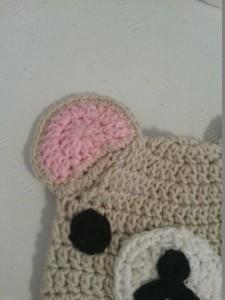 Rilakkuma and Korilakkuma Character Beanie Hats Crochet Pattern (24)