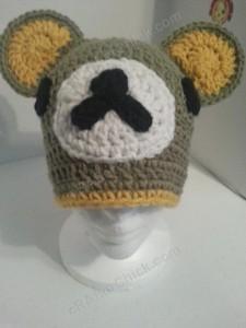Rilakkuma and Korilakkuma Character Beanie Hats Crochet Pattern (26)