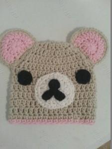 Rilakkuma and Korilakkuma Character Beanie Hats Crochet Pattern (29)