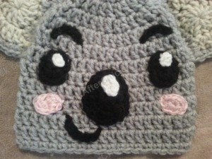 Tolee the Koala Bear from Ni Hoa, Kai-Lan Character Hat Crochet Pattern (3)
