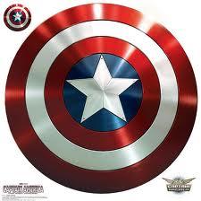 Captain America Shield Logo Crochet Pattern