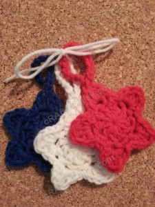 3 Star Shaped Face Scrubbies with Strap Crochet Pattern (20)