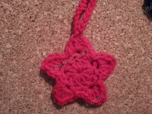 3 Star Shaped Face Scrubbies with Strap Crochet Pattern (5)
