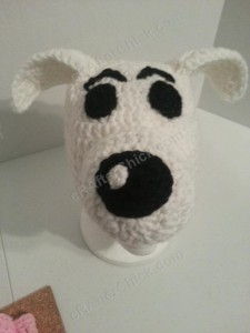 Adventure of Tintin Snowy the Dog Character Hat Crochet Pattern (11)