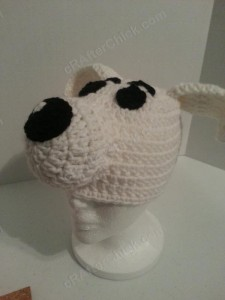 Adventure of Tintin Snowy the Dog Character Hat Crochet Pattern (12)