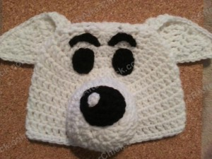Adventure of Tintin Snowy the Dog Character Hat Crochet Pattern