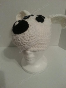 Adventure of Tintin Snowy the Dog Character Hat Crochet Pattern (4)