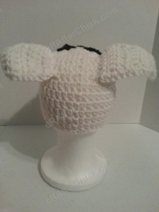 Adventure of Tintin Snowy the Dog Character Hat Crochet Pattern (7)