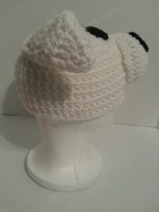 Adventure of Tintin Snowy the Dog Character Hat Crochet Pattern (8)
