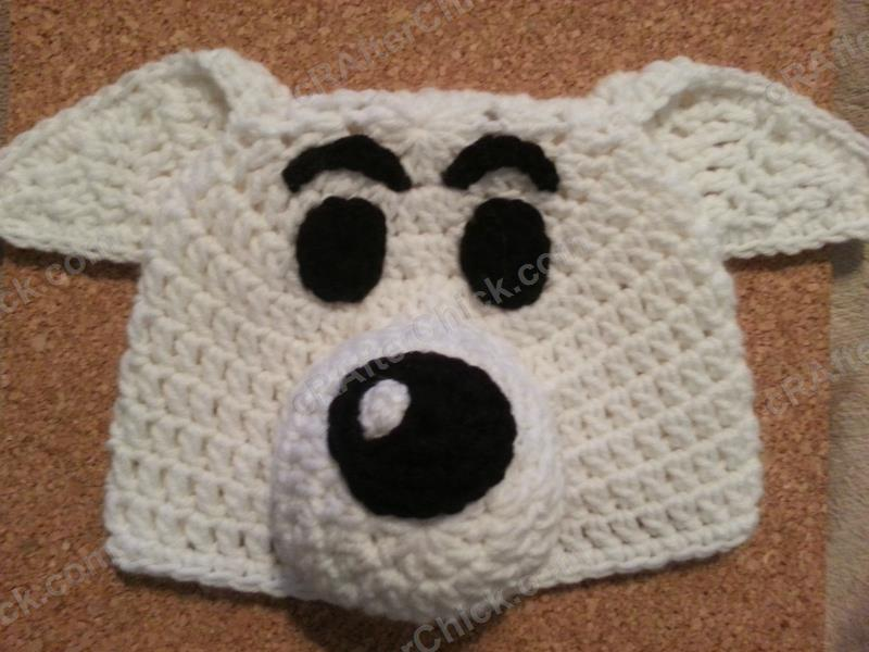 Free Crochet Patterns For Character Hats : Adventure of Tintins Snowy the Dog Character Hat Crochet ...