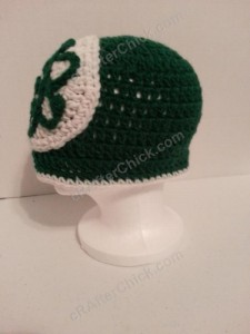 Big Bang Theory Show Atom Logo Inspired Beanie Hat Crochet Pattern (4)