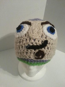 Buzz Lightyear from Toy Story Character Hat Crochet Pattern (16)