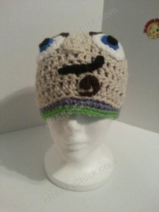 Buzz Lightyear from Toy Story Character Hat Crochet Pattern (17)