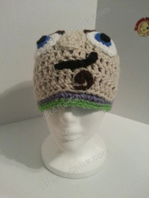 Buzz Lightyear from Toy Story Character Hat Crochet ...