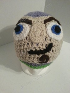Buzz Lightyear from Toy Story Character Hat Crochet Pattern (18)