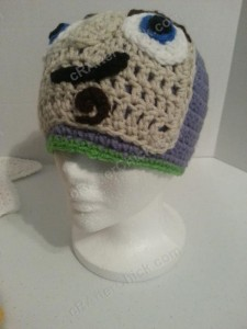 Buzz Lightyear from Toy Story Character Hat Crochet Pattern (29)