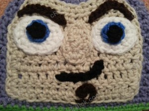 Buzz Lightyear from Toy Story Character Hat Crochet Pattern (4)