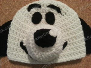 Charlie Brown's Snoopy the Dog Character Hat Crochet Patterm