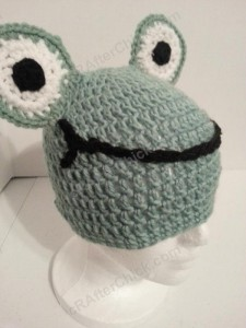 Cute and Easy Frog Beanie Hat Crochet Pattern (16)