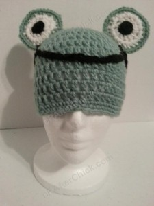 Cute and Easy Frog Beanie Hat Crochet Pattern (7)