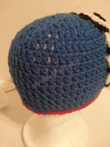 Doraemon the Anime Cat Character Hat Crochet Pattern (14)
