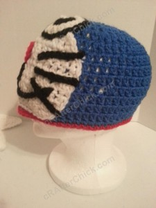 Doraemon the Anime Cat Character Hat Crochet Pattern (7)