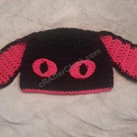 Evil Bunny Beanie Hat Crochet Pattern