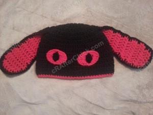 Evil Bunny Beanie Hat Crochet Pattern (13)