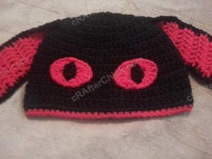 Evil Bunny Beanie Hat Crochet Pattern (15)