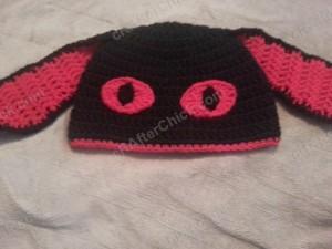 Evil Bunny Beanie Hat Crochet Pattern (16)