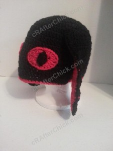 Evil Bunny Beanie Hat Crochet Pattern (6)