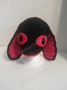 Evil Bunny Beanie Hat Crochet Pattern (7)