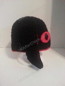 Evil Bunny Beanie Hat Crochet Pattern (9)