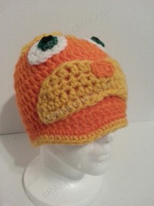 Lorax Dr Suess Character Hat Crochet Pattern (10)