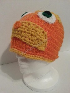 Lorax Dr Suess Character Hat Crochet Pattern (11)